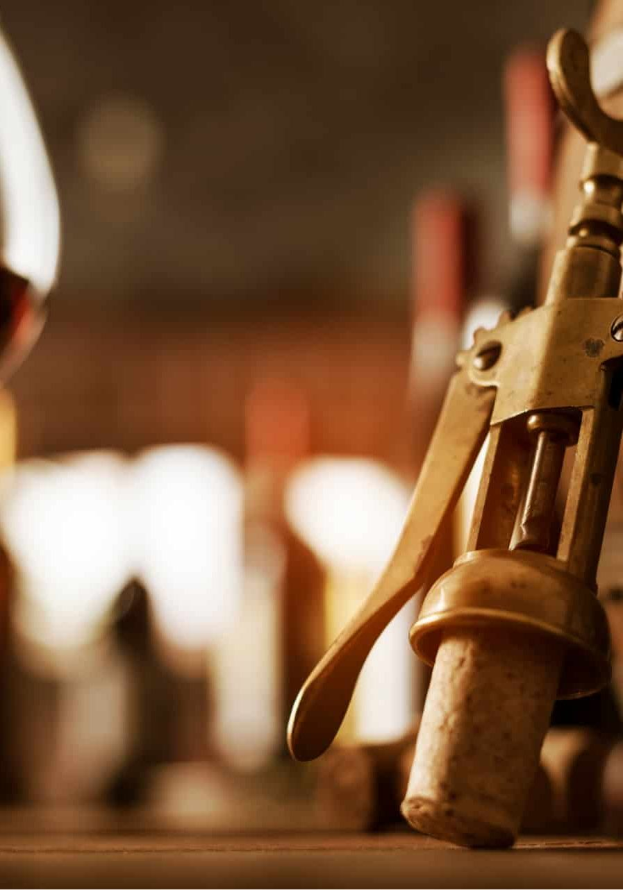 wine-tasting-in-the-cellar-and-vintage-corkscrew-JQSZJLW